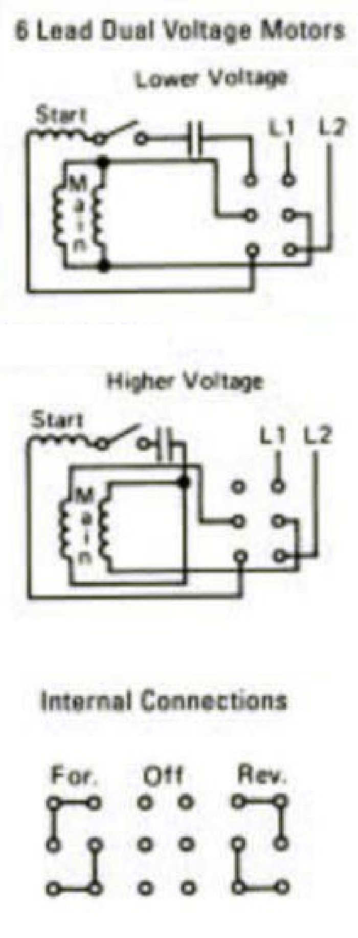 boat lift switch wiring - need help - the hull truth ... ac reversing switch wiring diagram