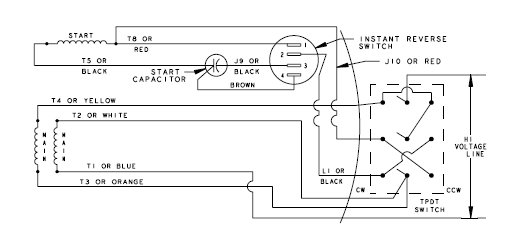 wiring diagram for boat lift motor the wiring diagram strange motor wiring ecn electrical forums wiring diagram