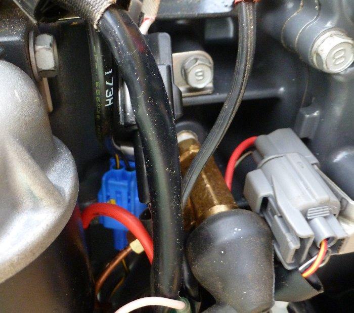 Broken oil pressure sensor, help needed - The Hull Truth